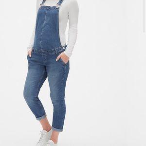Gap maternity overalls jeans denim medium M